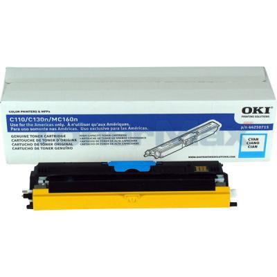 OKI C110 TONER CARTRIDGE CYAN HY